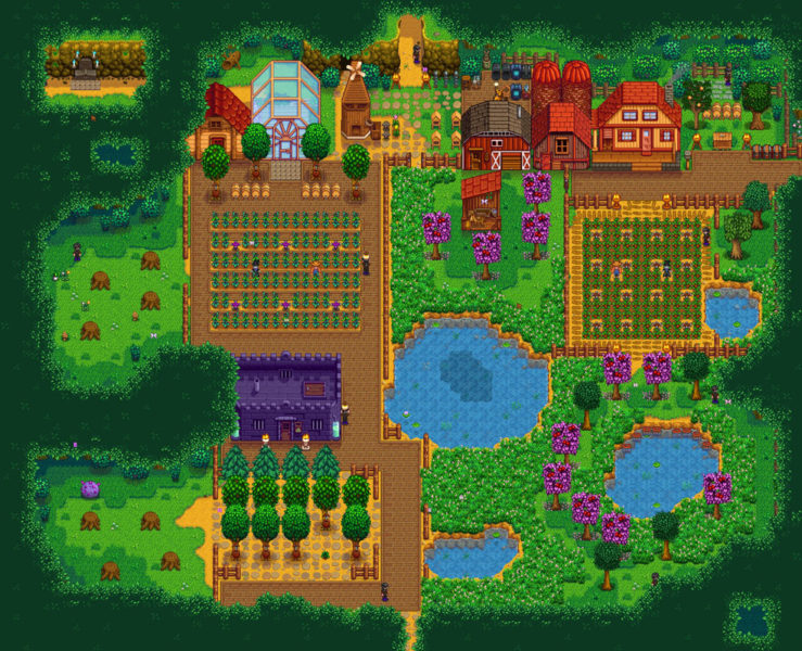 which type of farm is best in stardew valley
