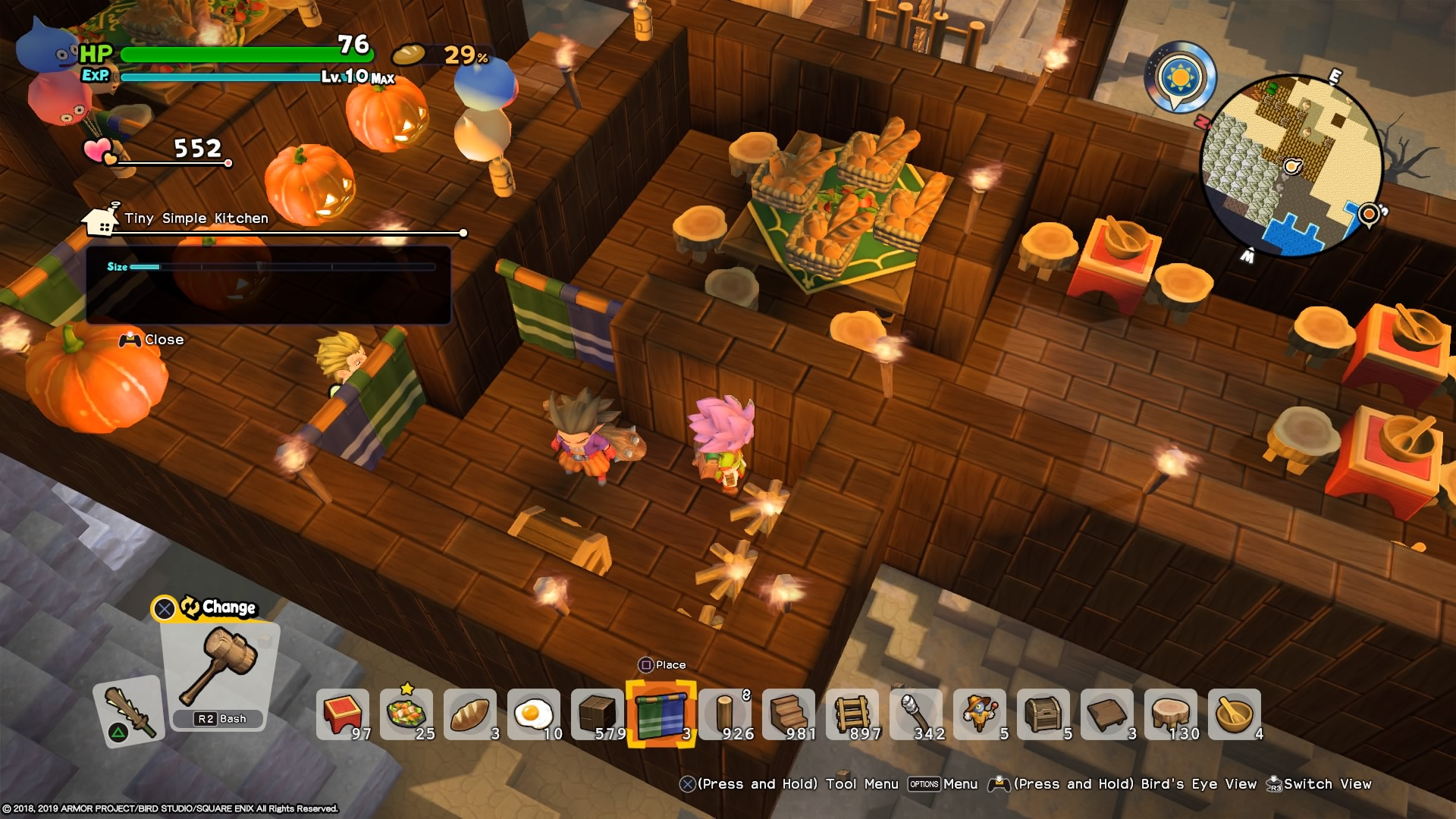 How To Build A Restaurant Dragon Quest Builders 2 Wiki