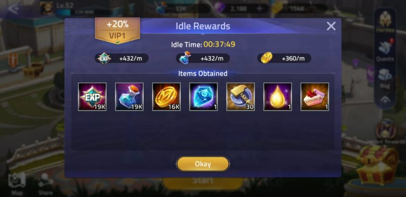 how to farm hero experience - mobile legends adventure