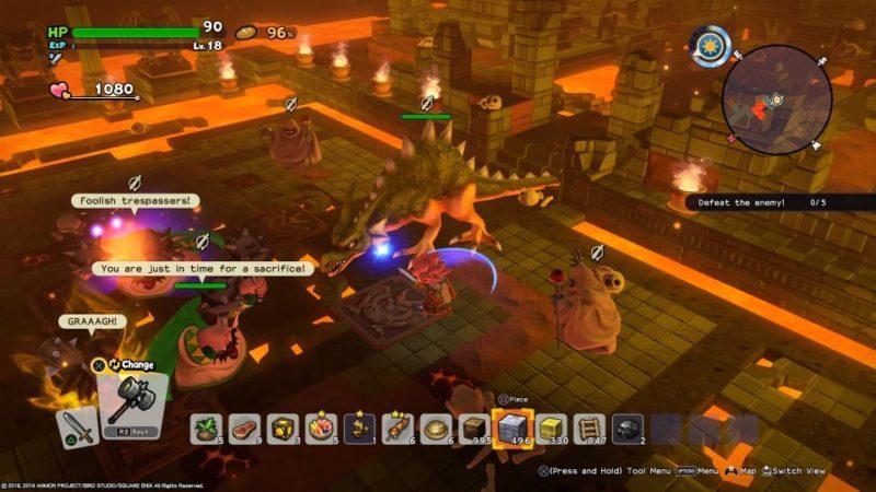 how to get diamond - dragon quest builders II