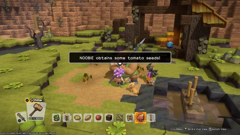 how to get tomato seeds - dragon quest builders 2