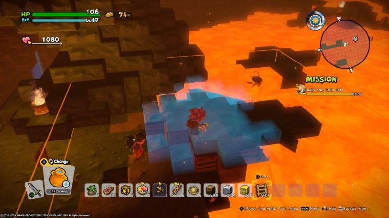 how to pass magma in dqb2