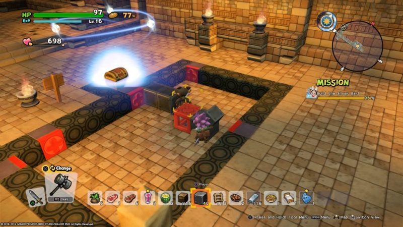 how to solve puzzles to get flute fragment - dragon quest builders 2