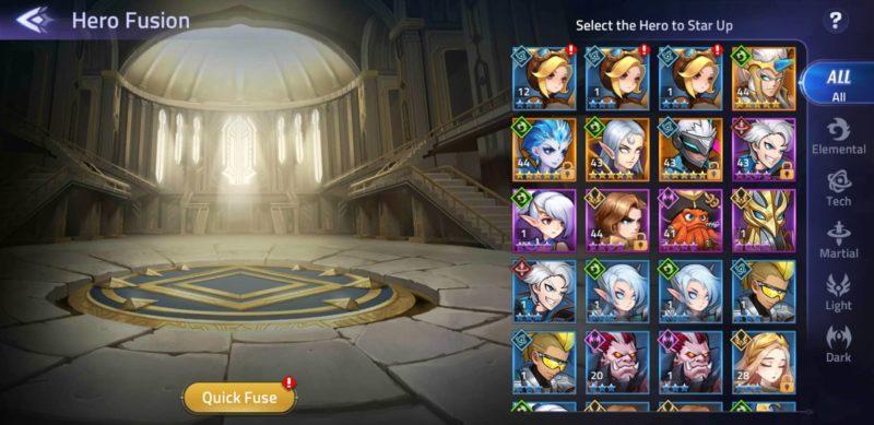 mobile legends adventure - fusion