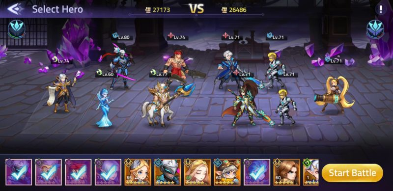mobile legends adventure how to calculate power
