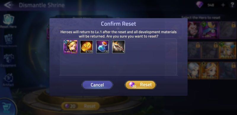 mobile legends adventure - how to farm hero experience