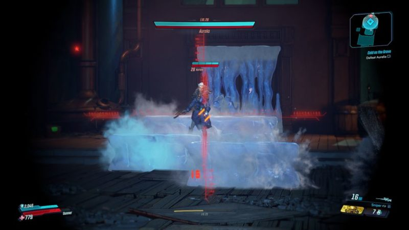 bl3 - cold as the grave defeat aureli