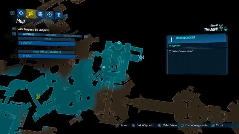 bl3 - hammerlocked mission walkthrough