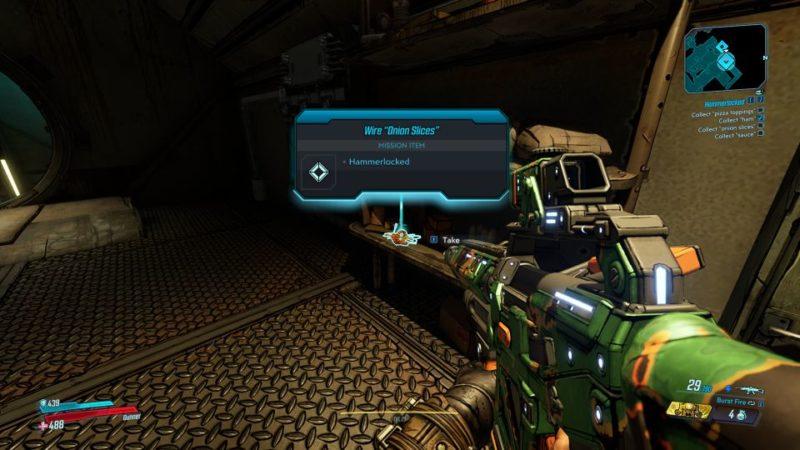 bl3 - hammerlocked mission wiki