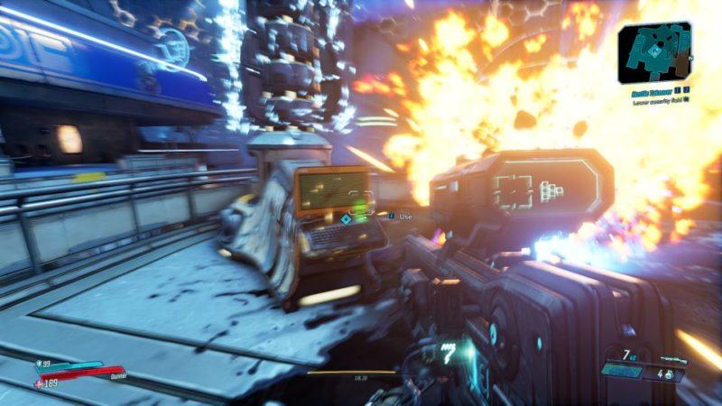 bl3 - hostile takeover mission