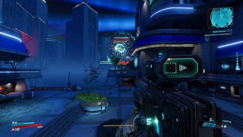 bl3 - hostile takeover mission objective
