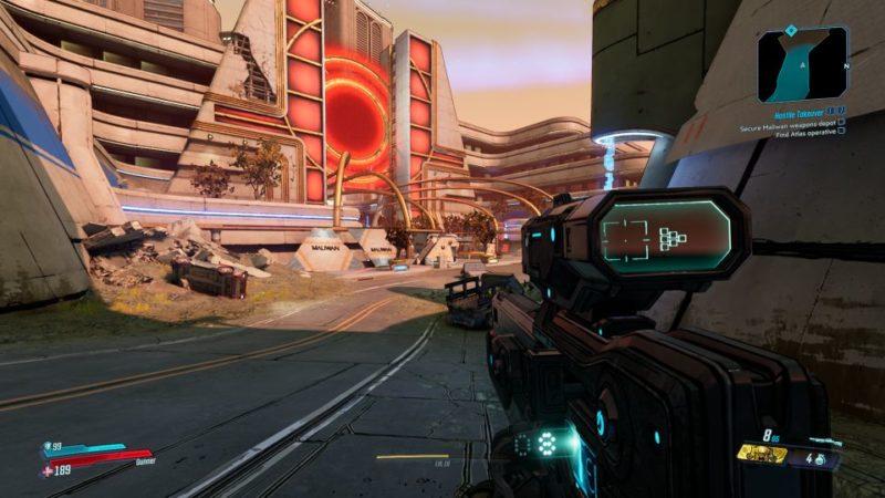 bl3 - hostile takeover quest