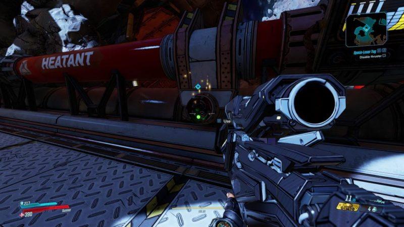 bl3 - space laser tag mission walkthrough