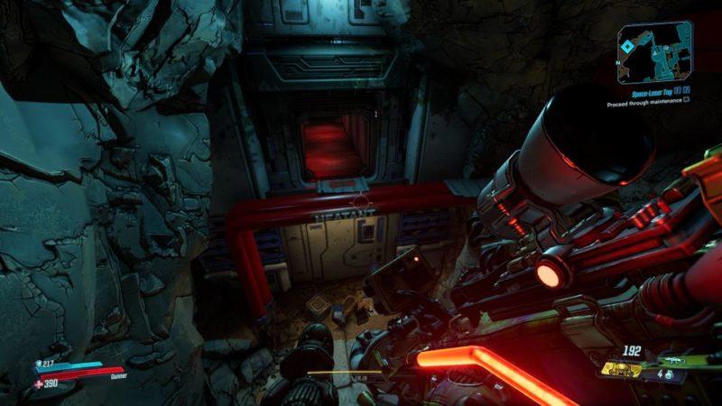 bl3 - space laser tag quest walkthrough