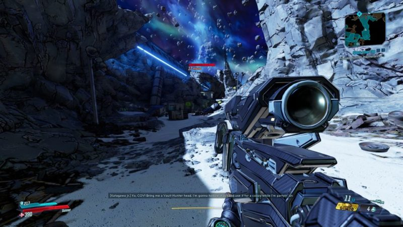 bl3 - space laser tag quest wiki