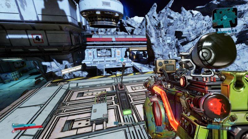 bl3 - space laser tag walkthrough tips