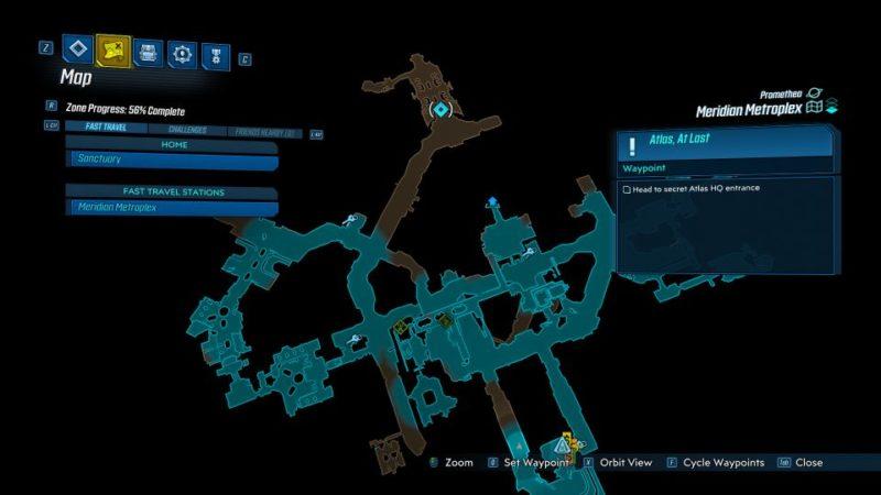 borderlands 3 - atlas, at last quest