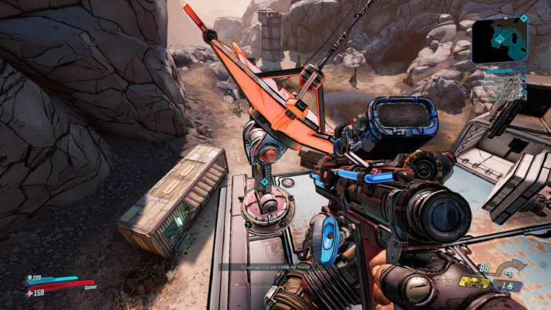 borderlands 3 - bad reception side mission