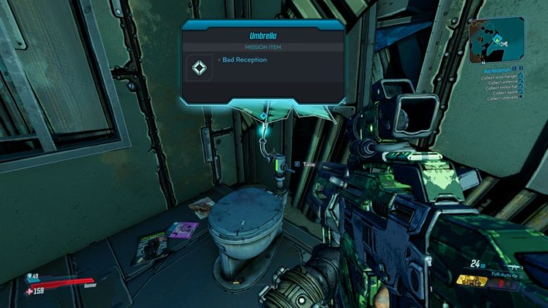 borderlands 3 - bad reception tips and guide