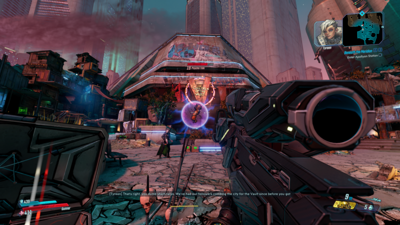 borderlands 3 - beneath the meridian rampager boss fight