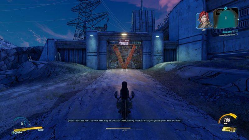 borderlands 3 - blood drive quest