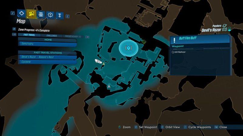 borderlands 3 - buff film buff mission wiki