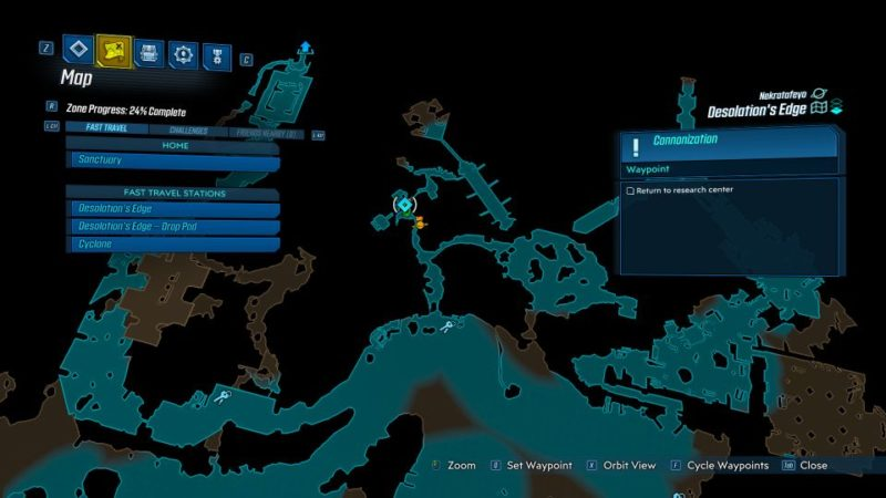 borderlands 3 - cannonization walkthrough and guide