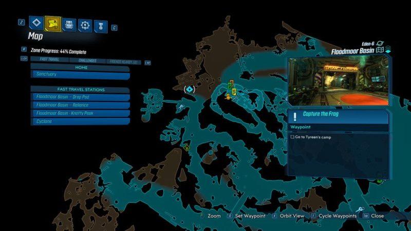borderlands 3 - capture the frag guide