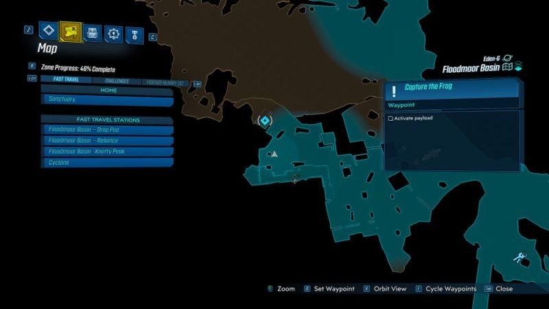 borderlands 3 - capture the frag quest guide