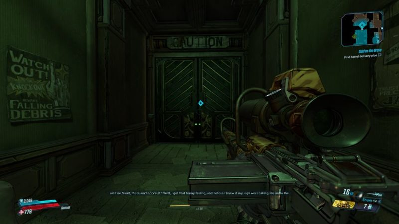 borderlands 3 - cold as the grave mission wiki