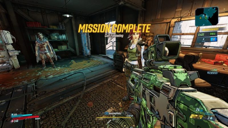 borderlands 3 cult following tips