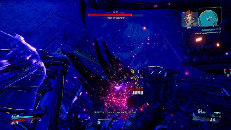 borderlands 3 - divine retribution boss fight tips