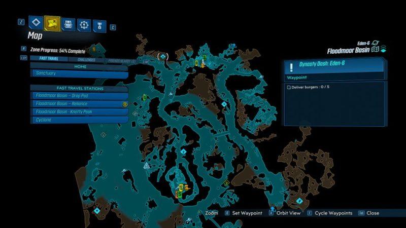 borderlands 3 - dynasty dash eden-6 guide and tips