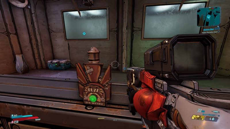 borderlands 3 - dynasty diner mission