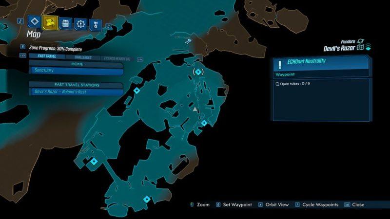 borderlands 3 - echonet neutrality mission wiki
