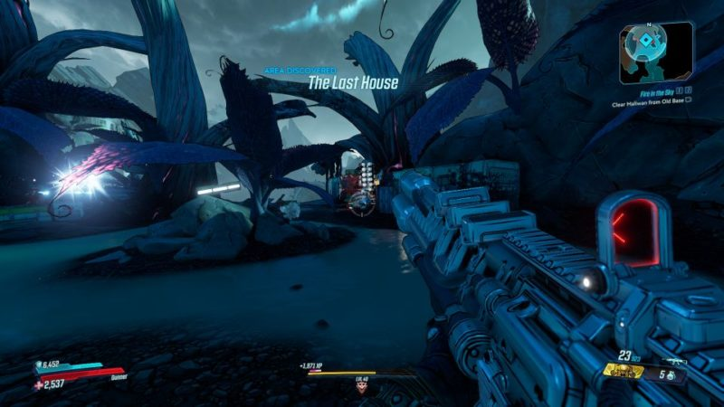 borderlands 3 - fire in the sky mission