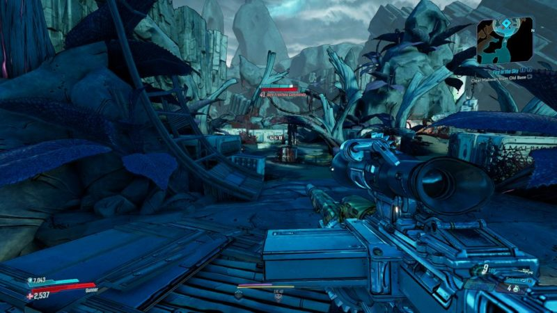 borderlands 3 - fire in the sky mission guide