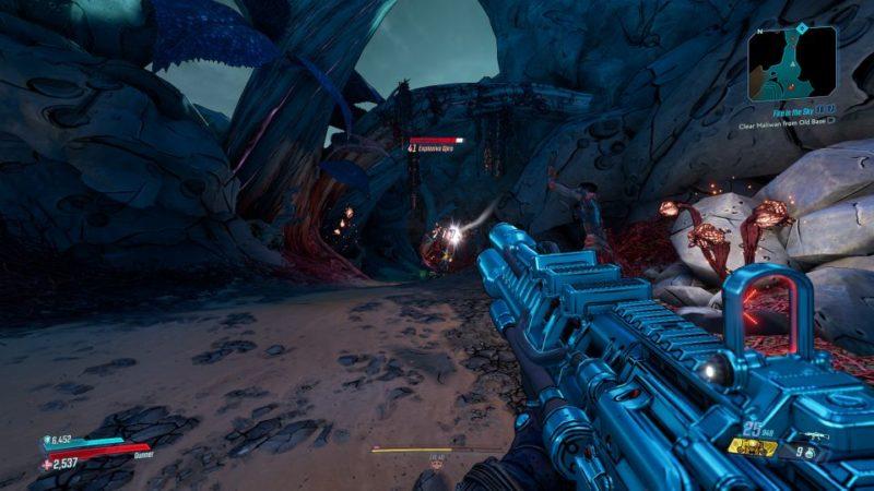borderlands 3 - fire in the sky quest walkthrough