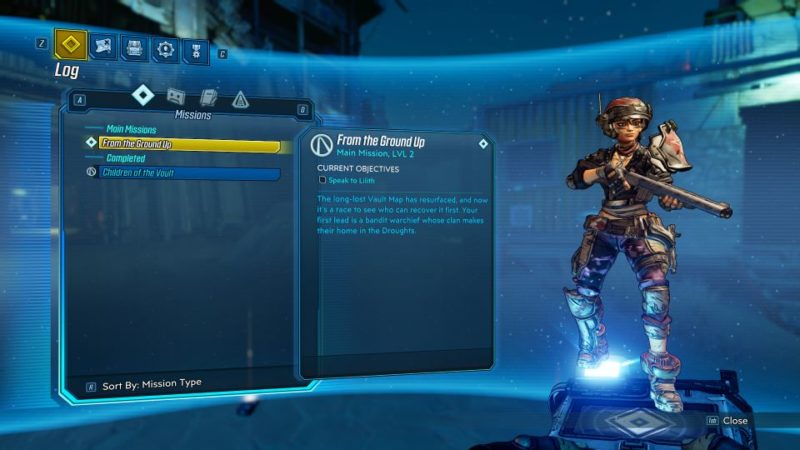 borderlands 3 - from the ground up guide