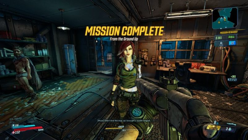 borderlands 3 - from the ground up main mission guide