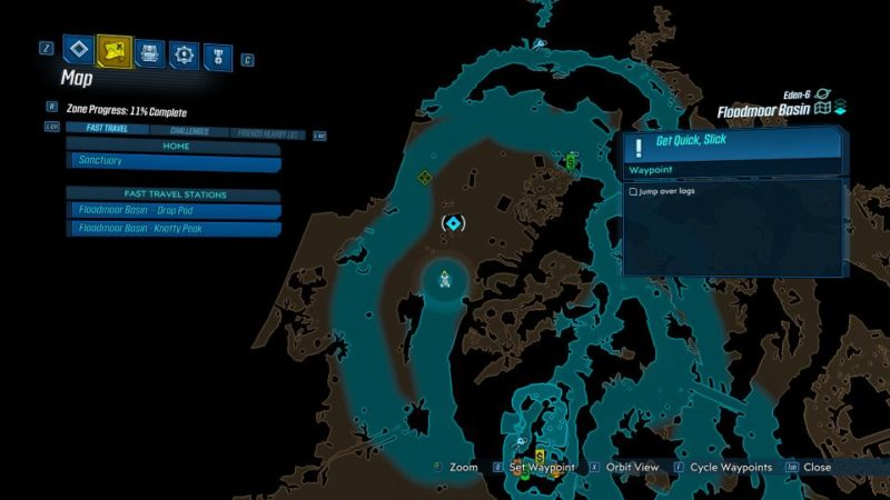 borderlands 3 - get quick slick mission
