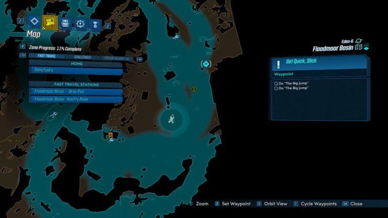 borderlands 3 - get quick slick mission walkthrough