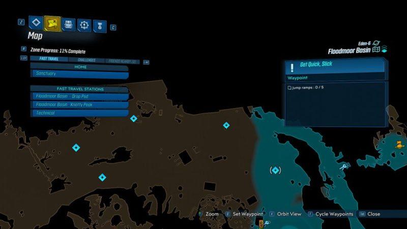 borderlands 3 - get quick slick quest
