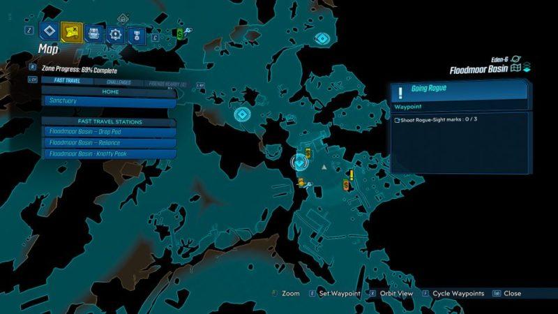 borderlands 3 - going rogue quest guide