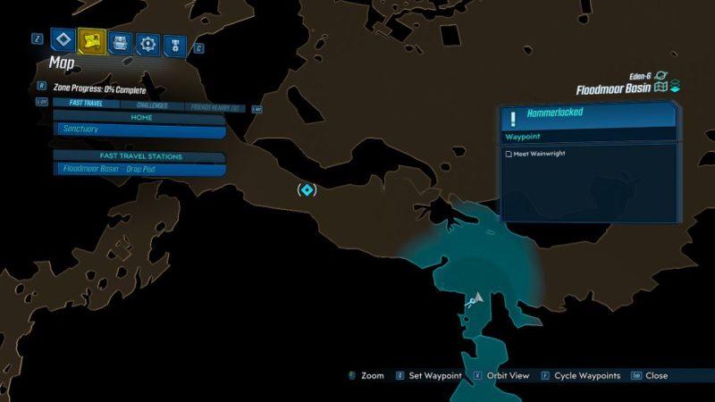 borderlands 3 - hammerlocked guide wiki