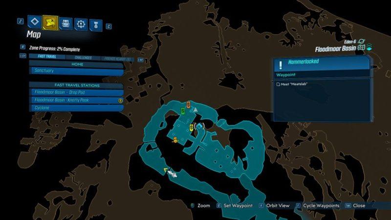 borderlands 3 - hammerlocked mission guide