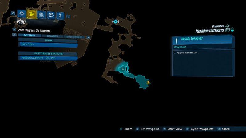borderlands 3 - hostile takeover quest guide