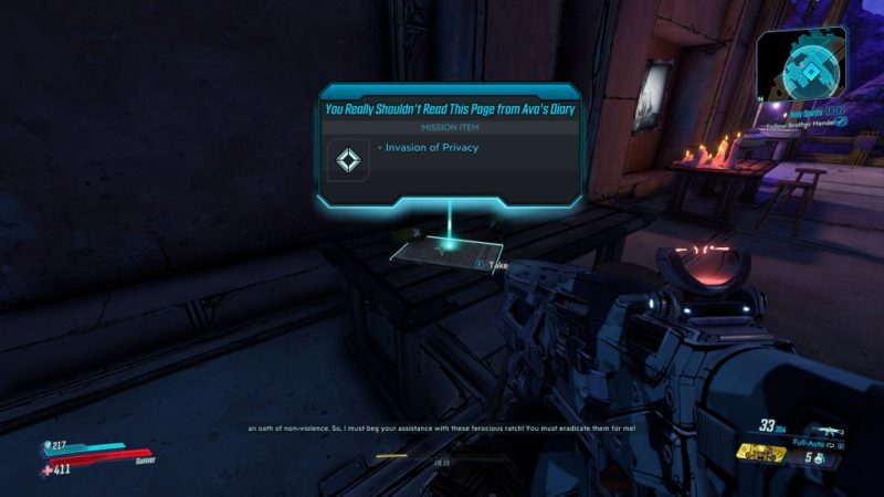borderlands 3 - invasion of privacy tips