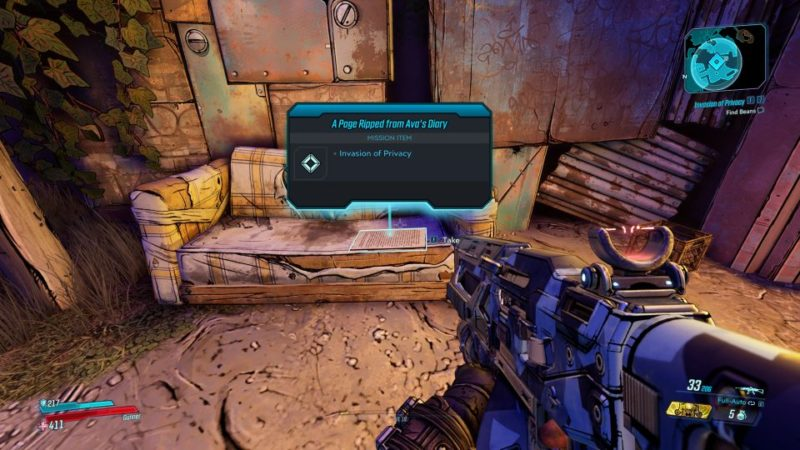 borderlands 3 - invasion of privacy walkthrough