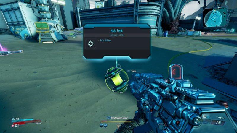 borderlands 3 - it's alive mission guide